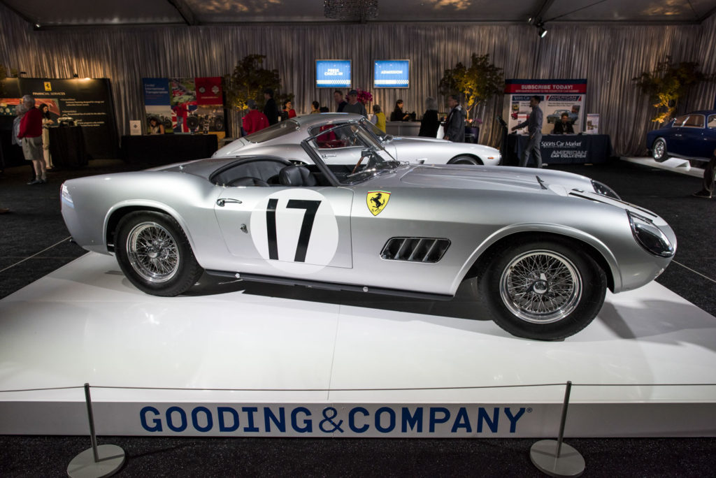 1959 Ferrari 250 GT LWB California Spider selama Gooding & Co lelang di Pebble Beach.